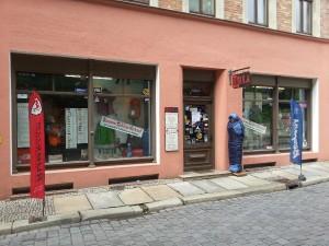 Ladenfront 2013 in der Mittelstraße