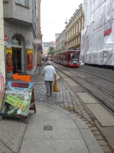 Wegweiser in der Großen Steinstraße
