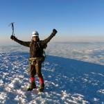 Bolivien Illimani-Solo auf 6439 m